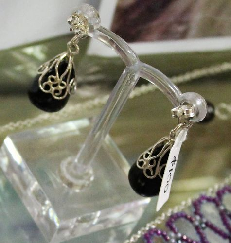 morpeth antique centre hunter valley stick and stone studio drop earrings piano ebony