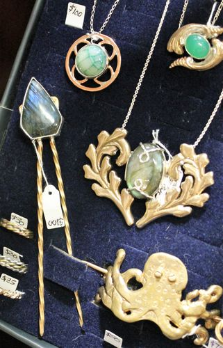 morpeth antique centre hunter valley stick and stone laborodite bronze hair pin accessory