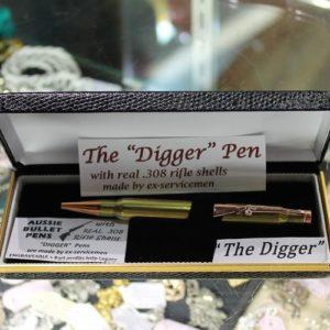 'The Digger' Bullet Pen