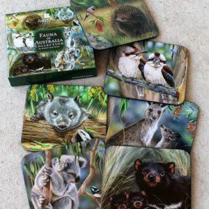Coasters Australian Wildlife NJP – Set of 6