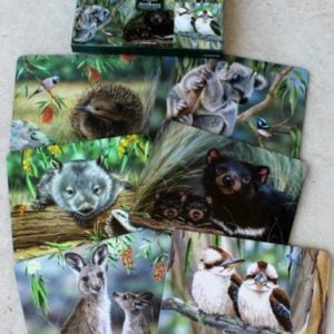 Placemat Set of Six – Australian Animals NJP