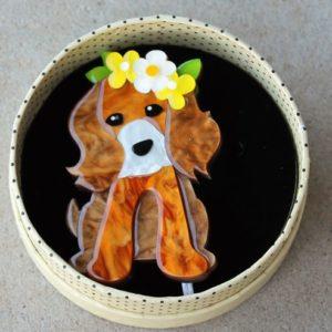 Erstwilder Brooch – Puppy Love