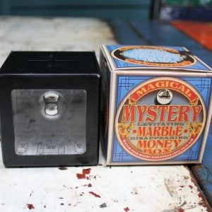 Mystery Marble Money Box