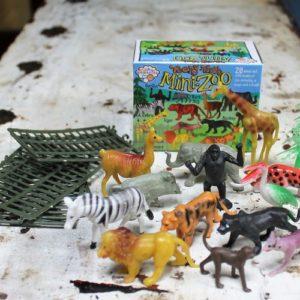 Mini Zoo Twenty Pieces