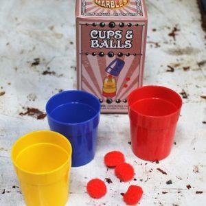 Magic Trick – Cups & Balls