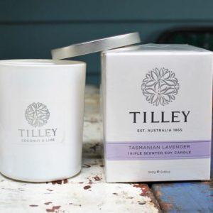 Tilley Soy Candle – Lavender