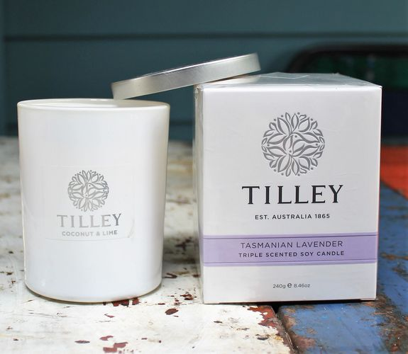 morpeth gift gallery hunter valley tilley rough cut hand nail body cream lotion soy candle diffuser australian made natural soap lavender