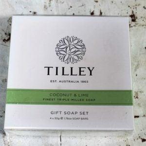 Tilley Gift Soap Pack – Coconut & Lime