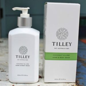 Tilley Hand & Body Wash – Coconut & Lime