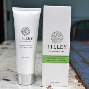 Tilley Hand & Nail Cream – Coconut & Lime