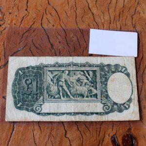 Australian One Pound Note 1933