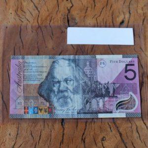 Australian 'Federation' Five Dollar Note
