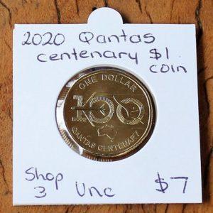 Qantas Centenary One Dollar Coin