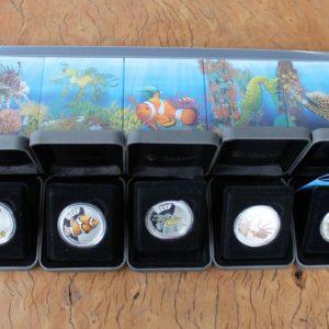 Australian Sea Life Coin Set