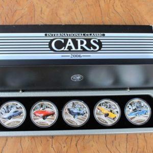 International Classic Car Coin Set