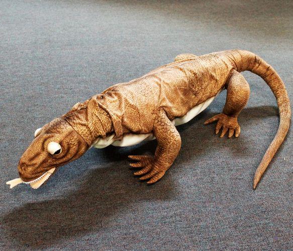 morpeth gift gallery hunter valley hansa soft cuddly plush animal farm jungle wild insect komodo dragon