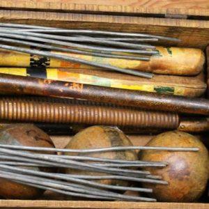 Vintage Croquet Set Boxed