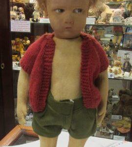Pouty Boy Lenci Doll