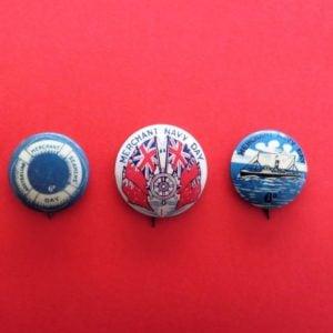 Australian Navy Badge Trio