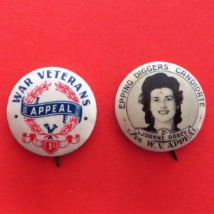 Australian War Veteran's Badge Duo