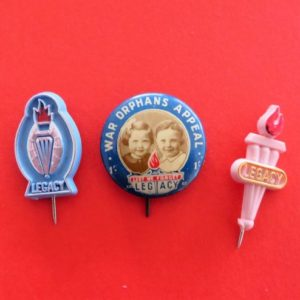 Australian Legacy Badge Trio