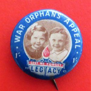 War Orphans Badge