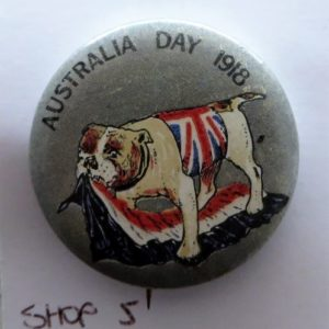 WWI Australia Day Badge 1918