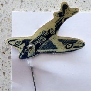 Australian ANZAC Day Plane 1943 Pin