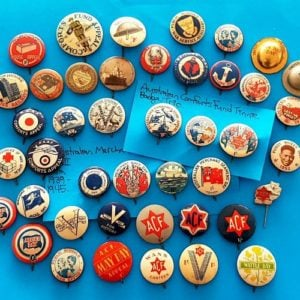 Militaria & Other Tinnies & Charity Badges