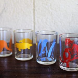 Swanky Swig Glasses – Set of Four Sample Size