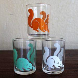 Swanky Swig Glass Set – Sample Size (Squirrels)