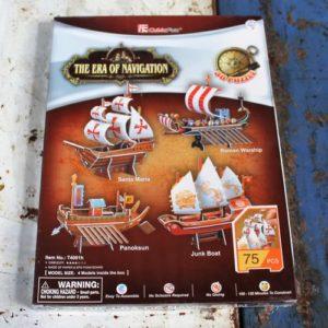 3D Puzzle – Era of Navigation Ships