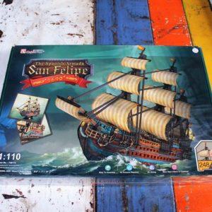 3D Puzzle – San Filipe Ship