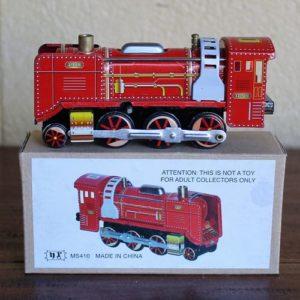 Red Locomotive Train – Tin Toy