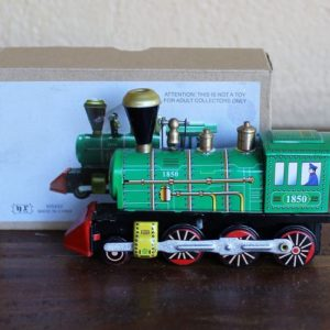 Train – Green Locomotive, length 12cm