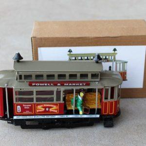 Tin Toy – San Fransisco Tramcar