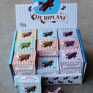 Tin Toy – BiPlane Ornament