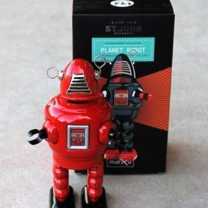 Tin Toy – Planet Robot Red
