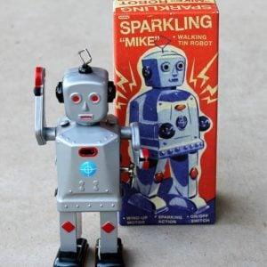 Tin Toy – Robot Sparkling Mike