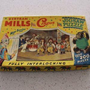 Bertram Mills Jigsaw Puzzle – Chimpanzees