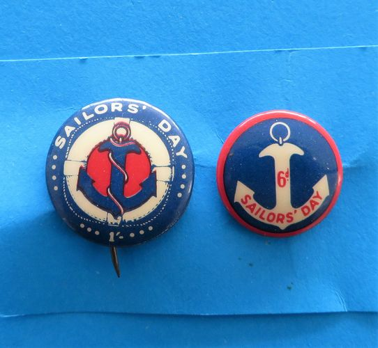 morpeth antique centre hunter valley australian ANZAC badge tinnie pin world war one two ACF legacy SA salvation army allies appeal day russia sailor's navy china poppy tin hat day red cross