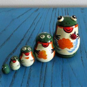 Matryoshka Dolls – Frog