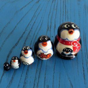 Matryoshka Doll – Penguin