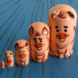 Matryoshka Doll – Pig