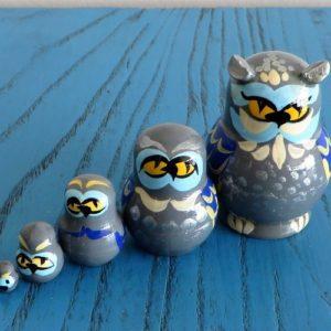 Matryoshka Doll – Owl