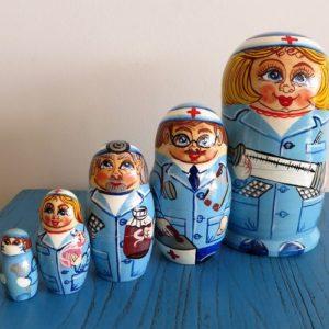 Matryoshka Doll – Nurse