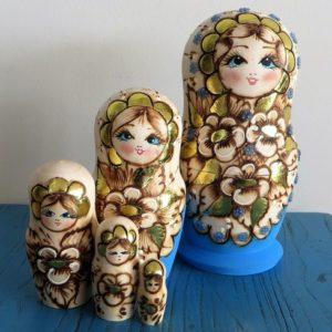 morpeth gift gallery hunter valley matroyshka dolls babushka nesting russian made set five ten hand painted mother's day