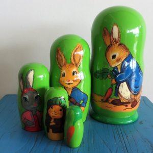 Matryoshka Doll – Peter Rabbit