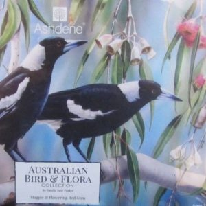 Jigsaw Puzzle Magpie & Flowering Red Gum – Natalie Jane Parker