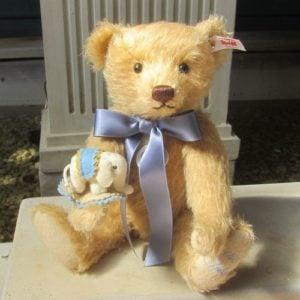 Teddy Bear with mini felt Elephant – 2020